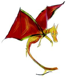 """dragon ' à la fermeture """" , projet mis en couleur sur l'ordinateur Dragons, String Bikinis, Color, Dental Floss, Kites"""