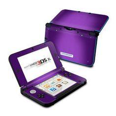 Nintendo 3DS XL Skin - Purple Burst