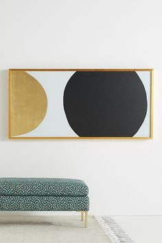 Gold Black Orb Wall Art by Dawn Sweitzer in Black, Decor at Anthropologie Bird Wall Art, Mirror Wall Art, Framed Wall Art, Wall Décor, Mirrors, Wall Mural, Wall Art Decor, Room Decor, Gold Walls