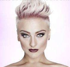 Blonde Hair Color for Short Spiky Hair