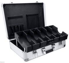 Vincent Master Barber Large Clipper Trimmer Storage Travel Case VT10142-SVsilver