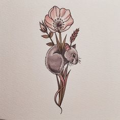 saferintheforest: can't stop drawing mice instagram: gemcarterx hello my work on my dash! x