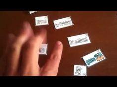 Classroom Games & Materials: Scrambled Sentence Game