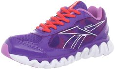 Reebok Ziglite Rush Running Shoe (Toddler/Little Kid/Big Kid),Purple/Berry/White/Geranium, Little Kid