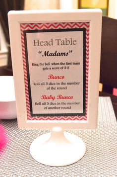 quick bunco rules