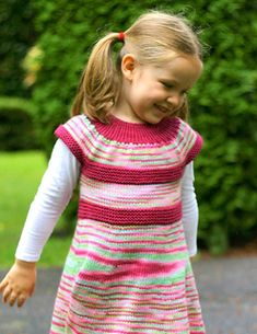 Maxi Top/ Dress ~ One of Rylie's favorite dress patterns, worsted weight