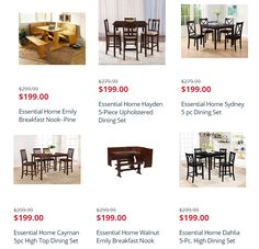 Awesome deals on dining room sets after points reward~~~>https://goo.gl/US29Ne