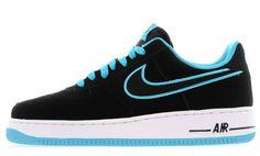Nike Air Force 1 Low Black Blue White