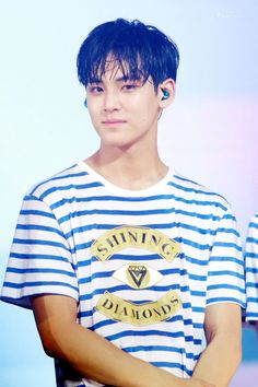 [PIC/HQ] 160730 Shining Diamond concert DAY 1 - #Seventeen Mingyu #세븐틴 #민규…