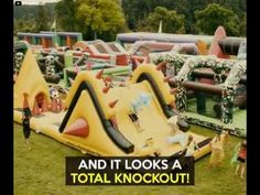 World's Largest Inflatable Jumping Castle