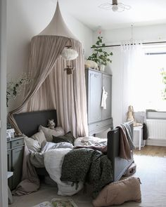 The maxi canopy styled to perfection by NEW canopy colours have just been added online ♡ . Girls Bedroom, Bedroom Decor, Bedrooms, Baby Barn, Childrens Room Decor, Little Girl Rooms, My New Room, Room Interior, Room Inspiration