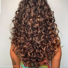 Boys With Curly Hair, Curly Hair Cuts, Curly Hair Styles, Natural Hair Styles, Curly Hair Layers, Perms For Long Hair, Long Curly Layers, Curly Perm, Brown Curly Hair
