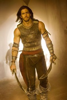 Jake Gyllenhaal in Prince of Persia - uh, what a man