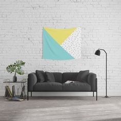 Geometry love Wall Tapestry    #society6 #promo #walltapestry #tapestry #geometry #pattern #design #graphicdesign #vector #pastel #pastelcolors #fashion #accessories #style #homedecor #decor