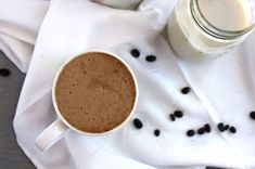 Frothy cinnamon bulletproof coffee made with coconut oil that tastes just like a latte!