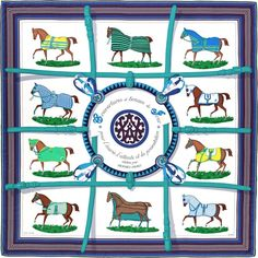 Hermes silk twill giant plume scarf, hand-rolled, 55'' x 55''