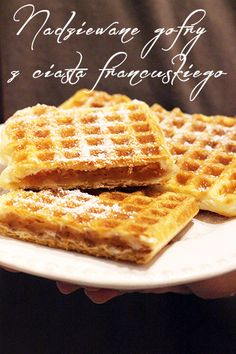 Polish Recipes, My Recipes, Cake Cookies, I Foods, Waffles, Food And Drink, Sweets, Chocolate, Cooking