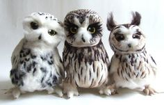 Feltmeup Designs  owls