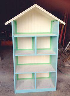 Diy Dollhouse Bookshelf: Handmade Christmas Gift