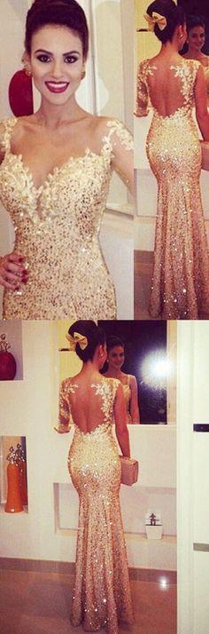gold prom dresses,2017 prom dresses,sparkling long prom dresses,charming prom dresses,high quality prom dresses,lace evening dresses,sexy evening dresses,lace gold party dresses