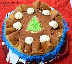 CHARLOTTE DI PANDORO Fett, Tiramisu, Oreo, Pandora, Cake, Ethnic Recipes, Desserts, Tailgate Desserts, Deserts