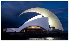 Tenerife Concert Hall, Canary Island, Spain