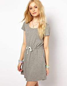 Vero Moda Drawstring Waist Dress
