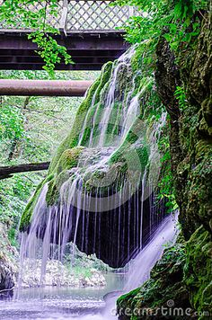 Photo about Bigar, in Romania is most amazing waterfall from East Europa. Image of river, europa, national - 89698110 Visit Romania, Places To See, Vectors, Waterfall, Sign, Stock Photos, Amazing, Nature, Free