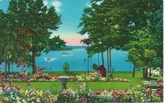 """Vintage Postcards - Lake Chautauqua, Bemus, N.Y.   """"C.T. Photochrom"""""""