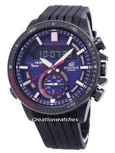 5923ba48c476 Casio Edifice ECB-800TR-2A Toro Rosso Limited Edition Illuminator Men s Watch  Casio Edifice