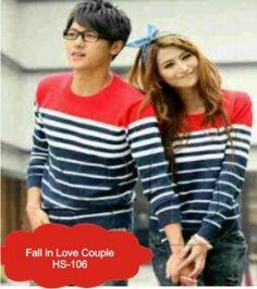 GrosirBusanaRajut-Fall In Love Couple-HS-106 www.grosir.busanarajut.com