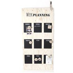 Weekplanner Underlayment 60×120 cm