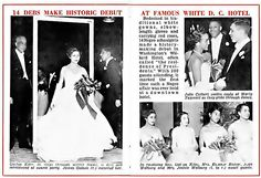 1955-African-American debs make history at Willard Hotel ball