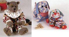 simplicity 8225 pattern for vintage yo yo dolls | YO YO ANIMALS PATTERN SET - Yo-Yo