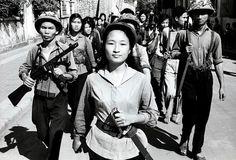 Militia (1965). Photo by Romano Cagnoni - Memories of Vietnam.