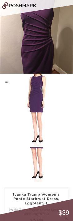 Ivanka Trump Starburst Dress