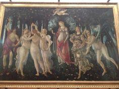 Galleria degli Uffizi in Firenze, Toscana