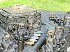 Tsaritsyno in bronze miniature
