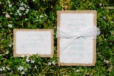 Rustic Wedding Invitation--wedding programs?