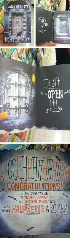 Don't open it, don't…