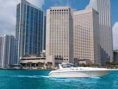 Dad's favorite place in Miami - unless he was on a ship about to depart!  InterContinental Miami