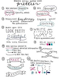 """pens-papers-studying-oh-my: """"Here is another pretty notes appreciation post! I love pretty notes and I find it easier to remember stuff that way. If you send me pics of your pretty notes and I find them especially aesthetic I'll post them and give. To Do Planner, Passion Planner, Planner Tips, 2016 Planner, School Planner, My Journal, Bullet Journal Inspiration, Study Journal, School Study Tips"""