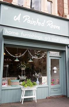A Painted Room is in Moseley,  Birmingham selling a styled curated mix of home furnishings