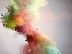 Beautiful color explosions by photographer Marcel Christ