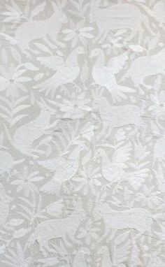 So lovely, would love to have this pattern as wallpaper! (pretty please) - mexican coverlet @l'aviva home