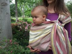 Eco Friendly Plant / Natural Dyed Ring Sling by ArtiZenThreads, $99.00