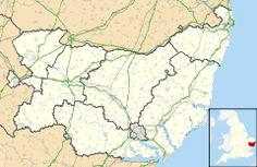Dunwich is located in Suffolk