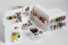 24 Issey Miyake concept shop by Nendo - Dezeen