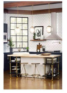 Kitchen style!