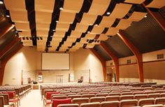 Tannoy VX Loudspeakers Lead Renovated Sanctuary At Southside Church Of Christ - ProSoundWeb Professional Audio, Churches Of Christ, Loudspeaker, Opera House, Building, Buildings, Opera, Architectural Engineering